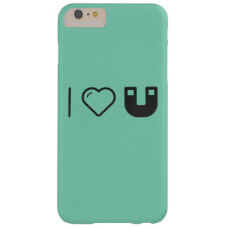I Love Magnetic Forces Barely There iPhone 6 Plus Case