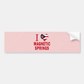 I love Magnetic Springs, Ohio Bumper Sticker
