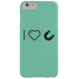 I Love Magnets Barely There iPhone 6 Plus Case