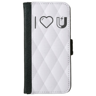 I Love Magnets iPhone 6 Wallet Case