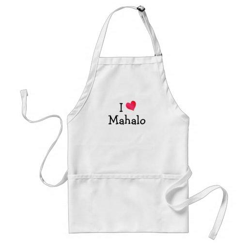 I Love Mahalo Aprons