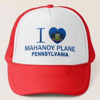 I Love Mahanoy Plane, PA Trucker Hat