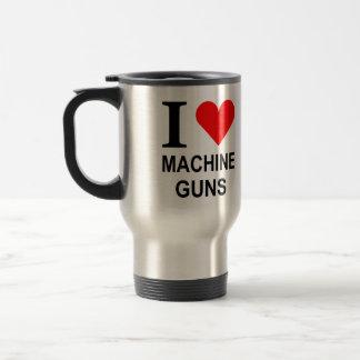I love mahcine guns on the go coffee travel mug