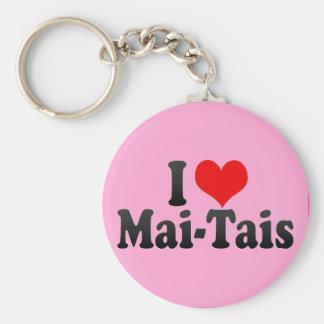 I Love Mai-Tais Keychain