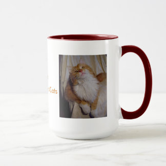 I Love Maine Coon Cats Mug