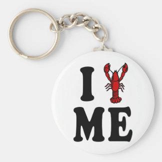 I Love Maine Lobster Keychain