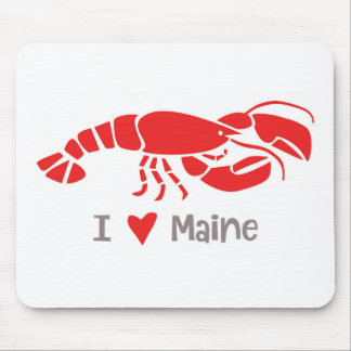 I love Maine Lobster Mouse Pad