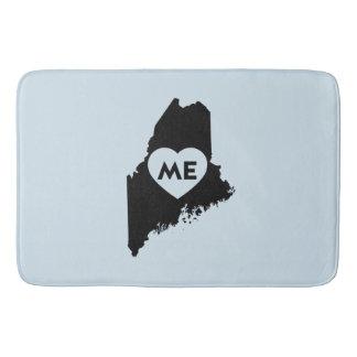I Love Maine State Bath Mat