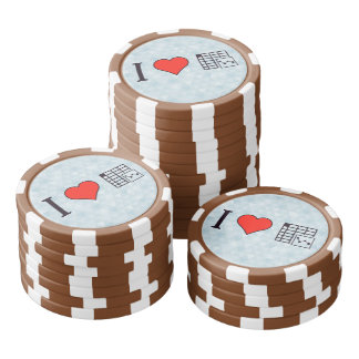 I Love Maintaing Records Poker Chips