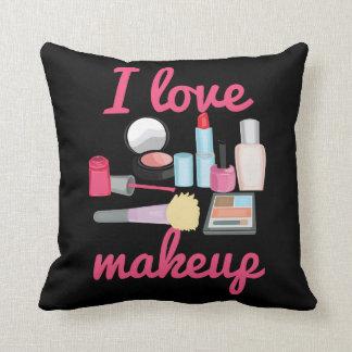 I love makeup cosmetics Decorative Throw Pillow