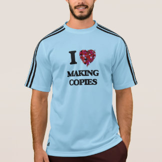 I love Making Copies Tshirt