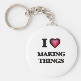 I Love Making Things Keychain