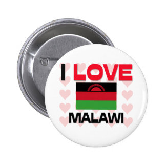 I Love Malawi 2 Inch Round Button