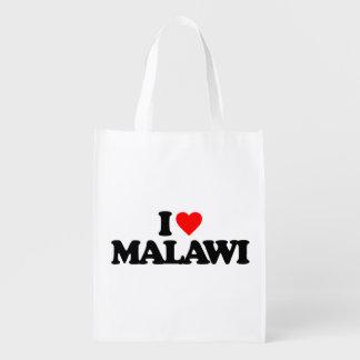 I LOVE MALAWI GROCERY BAG