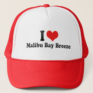 I Love Malibu Bay Breeze Trucker Hat