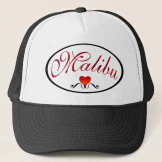 I Love Malibu Fashion Trucker Hat