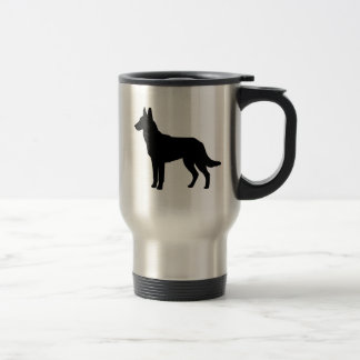 I Love Malinois Travel Mug