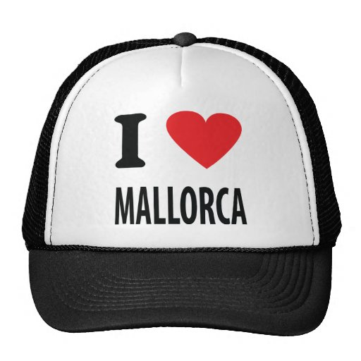 I love mallorca icon hats