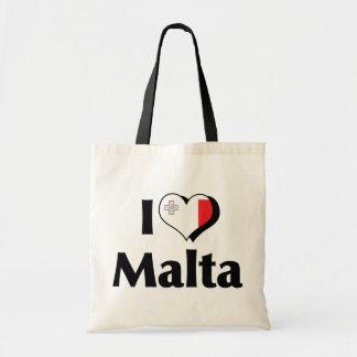 I Love Malta Flag