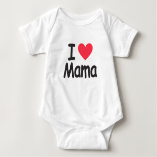I love mamma, mom, mother baby bodysuit