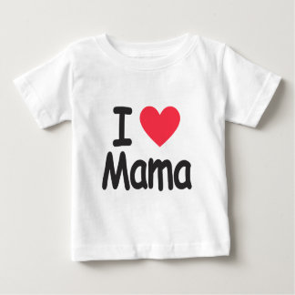 I love mamma, mom, mother baby T-Shirt