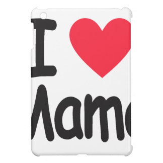 I love mamma, mom, mother iPad mini covers