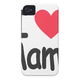 I love mamma, mom, mother iPhone 4 Case-Mate case