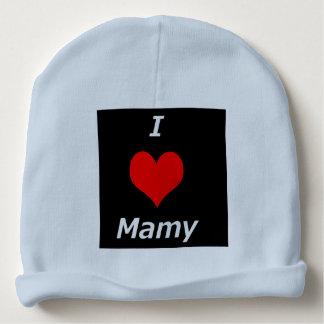 I LOVE MAMY BABY BEANIE