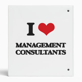 I love Management Consultants Binder