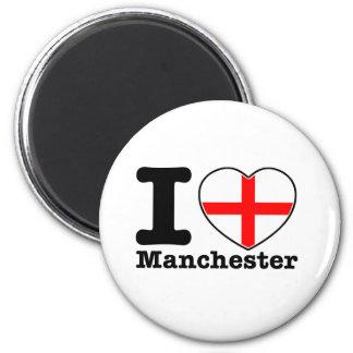 I love Manchester Magnet