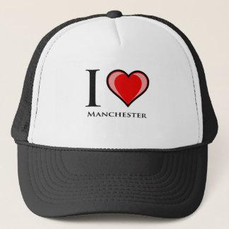 I Love Manchester Trucker Hat