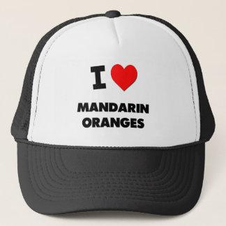 I Love Mandarin Oranges Trucker Hat
