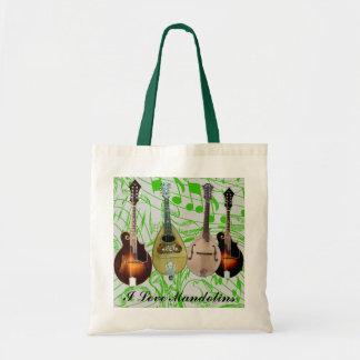 I LOVE MANDOLINS-BAG TOTE BAG