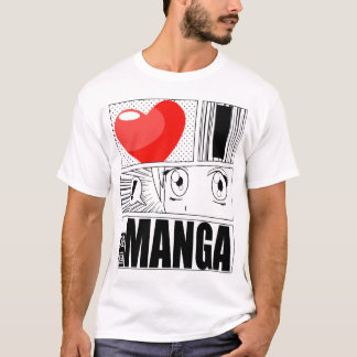 I LOVE MANGA T-shirt