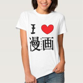 I Love Manga Tshirt