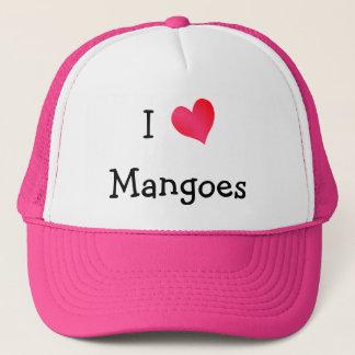 I Love Mangoes Trucker Hat