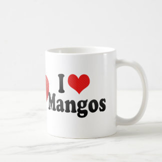 I Love Mangos Coffee Mug