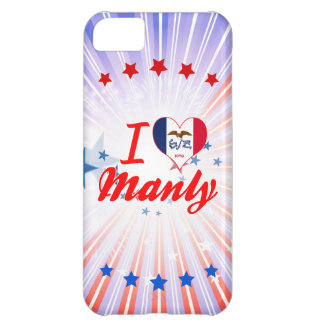 I Love Manly, Iowa Cover For iPhone 5C