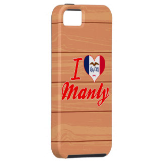 I Love Manly, Iowa iPhone 5 Cases