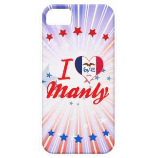 I Love Manly, Iowa iPhone 5 Covers