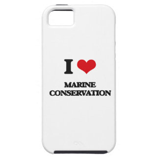 I Love Marine Conservation iPhone 5 Cases