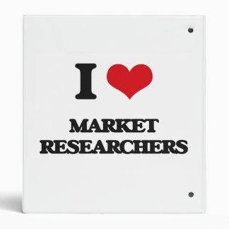 I love Market Researchers Binder