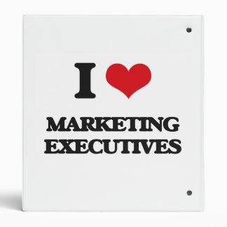 I love Marketing Executives Vinyl Binders