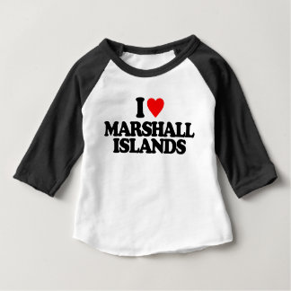 I LOVE MARSHALL ISLANDS BABY T-Shirt