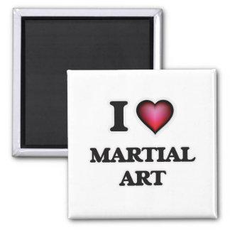 I Love Martial Art Magnet
