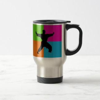I love martial arts - homeware travel mug