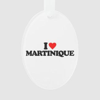 I LOVE MARTINIQUE ORNAMENT