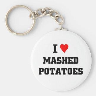I love Mashed Potatoes Keychain