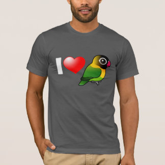 I Love Masked Lovebirds T-Shirt