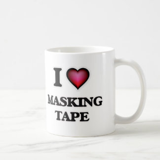 I Love Masking Tape Coffee Mug